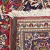 An old kashan carpet ca 304 x 200 cm.