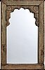 A 20th century mirror from india.