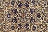 A carpet, nain, part silk, ca  306 x  219 cm.