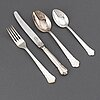 A set of 48 pieces silver plate flatware, gab, stockholm.