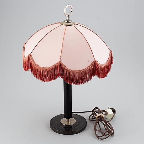 A 1930's table lamp.