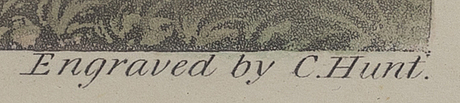 John frederick herring sr, after,and c. hancock, after  3+1 color engravings.