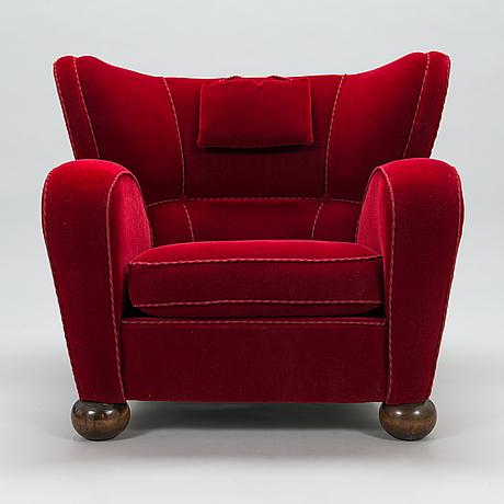 MÄrta blomstedt,  nojatuoli, aulanko-malli. suunniteltu 1939.