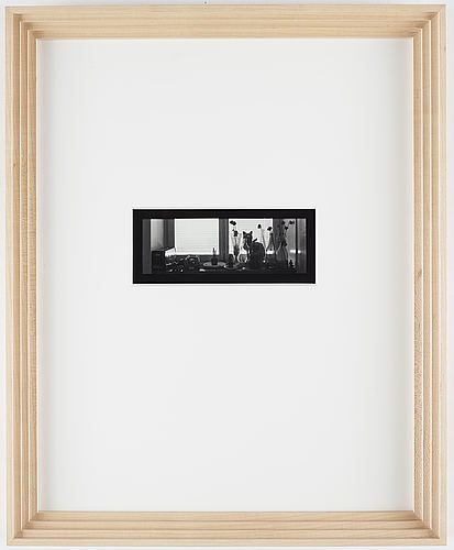 Dawid, photograph signed and dated 1982 edition 2/25.