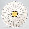 Alvar aalto, a five-piece 1960'/1970's 'aurinko' (sun-series), garden furniture set for artek.