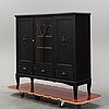 An early 20th century show cabinet.