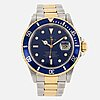 Rolex, oyster perpetual date, submariner, 'swiss only', chronometer, wristwatch, 40 mm,