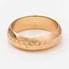 An 18k gold ring. westerback, helsinki 1972.