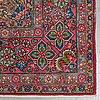 A carpet, tabriz, ca 281 x 208 cm.