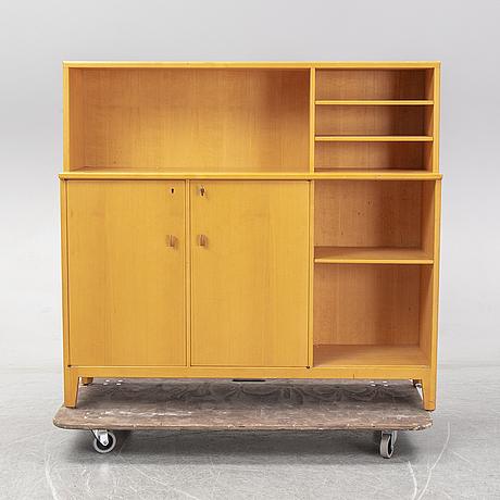 Carl malmsten, a 20th century birch bookcase/shelf.