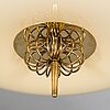 Paavo tynell, a mid 20th century '2098r' ceiling light for idman.