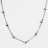 "BjÖrn weckstrÖm, ""aranda"" silver necklace, lapponia 1978."