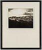 """August sander, fotografi ur portfolion """"rheinlandschaften"""", signerad av gunther sander, ed 52/75."""