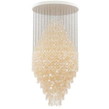"""2. Verner Panton, a """"Fun 8DM Pendant"""", ceiling lamp, Verpan, Denmark 21st Century."""