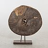 An 19th century wooden indian wheel.