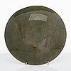 Saara hopea, a 1960s signed decorative plate.