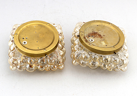Helena tynell, a pair of pendants for glashütte limburg, alter part of the 20th century.