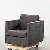 "Jens juul eilersen, easy chair, ""box"", eilersen, denmark."
