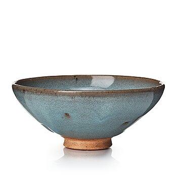 608. A lavender blue glazed bowl, Junyao, Yuan dynasty.