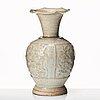 Vas, qinbaiporslin. yuandynastin (1260-1368).