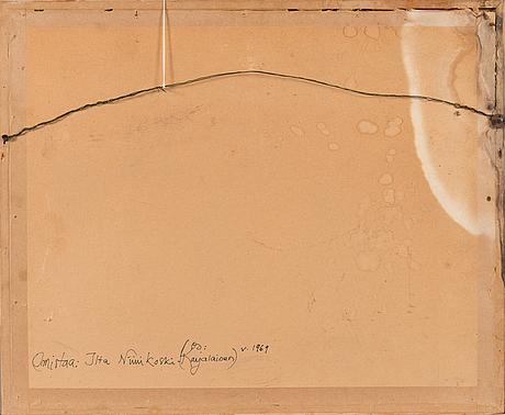 Rafael wardi, pastel, signed and dated -68.