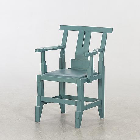 """John kandell, armchair, """"solitär"""" for källemo ab värnamo."""