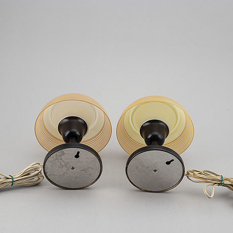A pair of 1930s-40s table lamps.