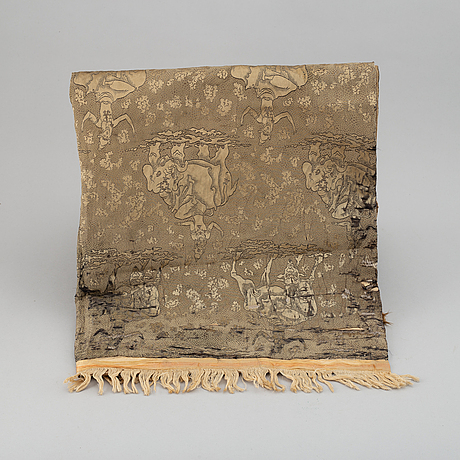 A silk drapery, south east asia, early 20th century.