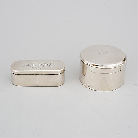 Dosor 1 +1 silver, johan malmstedt, göteborg, jonas frohm, helsingborg 1843.
