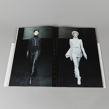 Rick owens, photobook, published by rizzoli international publications inc.