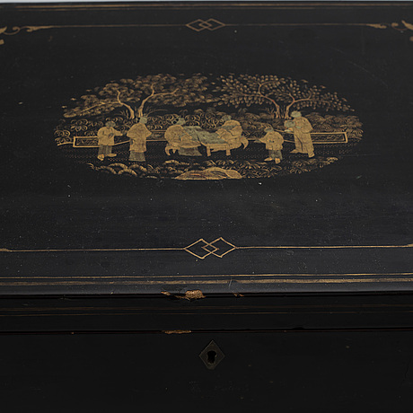 A chest, late qing dynasty, 19th century.
