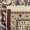 An old kerman carpet ca 349 x 242 cm.