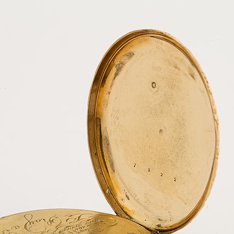 Pocket watch, 42 mm.