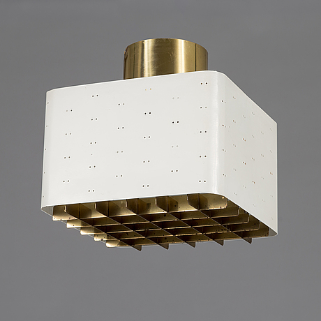 Paavo tynell, a mid-20th-century 'tähtitaivas' (starry sky) ceiling light for idman, finland.