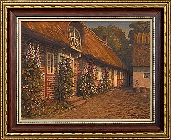 THEODOR JÖNSSON, oil on canvas signed and dated.