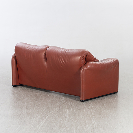 "Vico magistretti, , sofa, ""maralunga"", cassina, italy, second half of the 20th century."