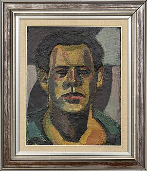 GUNNAR JONN, oil on panel, signed and dated 59.
