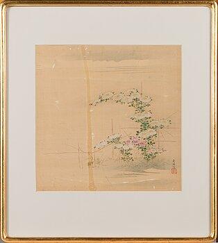 Silkkimaalaus, Japani, 1800-luvun loppu.