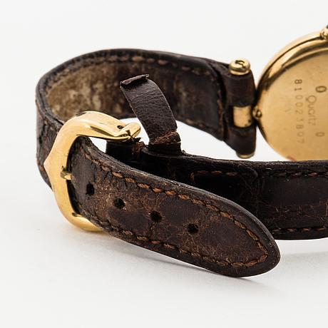 Must de cartier, vlc, wristwatch, 24 mm.