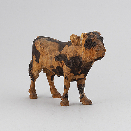 Axel petersson dÖderhultarn. sculpture. wood. unsigned. height 17 cm.