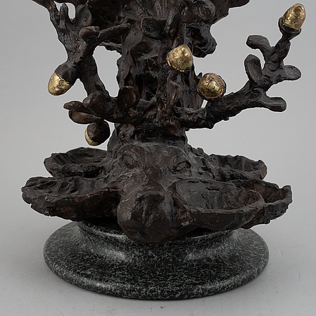 Ernst billgren, sculpture, signed and numbered, 91/100.