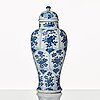 Two blue and white vases, qing dynasty, kangxi (1662-1722).