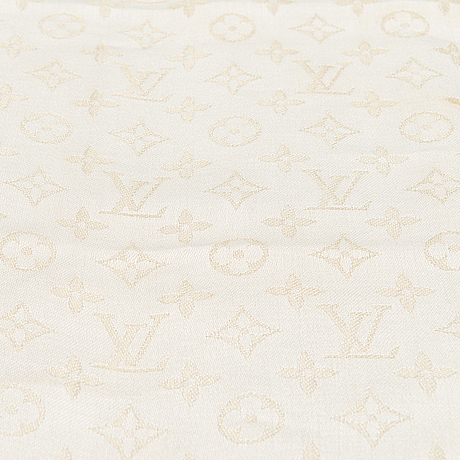 Louis vuitton, 'monogram shine shawl'.