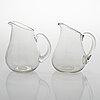 Gunnel nyman, 15-piece mid-century glassware set by nuutajärvi, finland.
