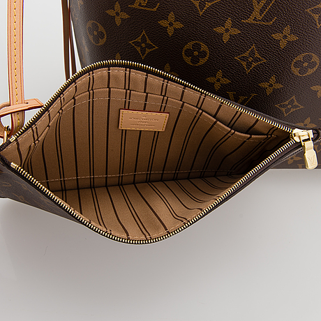 Louis vuitton, 'neverfull mm monogram bag'.