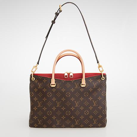 Louis Vuitton A Monogram Pallas Mm Bag Bukowskis