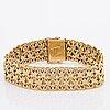 Bracelet, 18k gold, hallmarked hÅn stockholm 1965, 49,8 g.