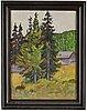 Tor bjurstrÖm, oil on canvas/panel, signed.