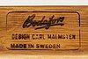 """Carl malmsten, matgrupp 6 dlr """"herrgården"""" samt """"ulfåsa"""", bodafors, 1900-talets andra hälft."""