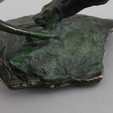 TorbjÖrn forsberg, sculpture, signed and dated 2009.